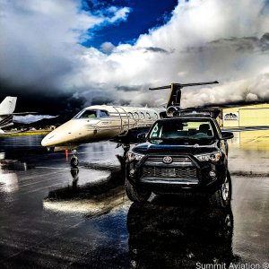 To the mountains we go, are you coming with?  #Embraer #phenom300 #embraerstories #flyingisawesome #privatejet #flying #bizav #instaplane #instagramaviation #Aviation #airplanes #aircraftsales #toyota #notanad #dontendasentencewithapreposition
