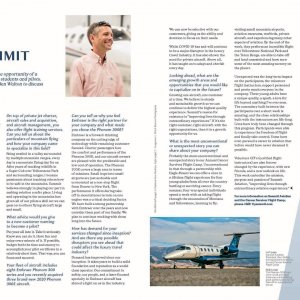 We are honored to have been chosen to be featured in the newest issue of the @Embraer Advantage Magazine! Learn more about our philosophy and values, what makes us unique and why we love the Phenom 300 and 300E for our charter operations. Click the link below and check out our story on page 20. #FlySummit #embraer #phenom300 #phenom300e #FlyPrivate #Charter #aviation #privatejetcharter #bizjet  https://daflwcl3bnxyt.cloudfront.net/m/667e5a859052895f/original/Embraer_Advantage_11_book_double_pages.pdf